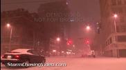 Зимна буря в Дейтън , Охайо 4.2.2014