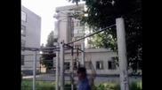 Уличен фитнес // събиране в Ямбол.