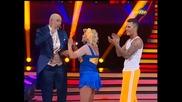 Dancing Stars - Албена Михова и Петьо jive (18.03.2014г.)