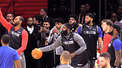 USA: Team LeBron and Team Giannis practice in Chicago ahead of 2020 ALL-STAR clash
