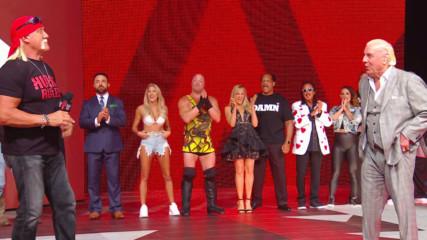 """Stone Cold"" Steve Austin, Hulk Hogan and Ric Flair lead A Toast to Monday Night Raw: Raw Reunion, July 22, 2019"