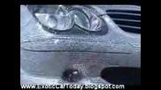 Mercedes SL600 Със 300000 Кристали