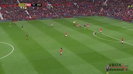 26.10.13 Манчестър Юнайтед 3 - 2 Стоук Сити - Най-доброто от мача