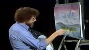 S01 Радостта на живописта с Bob Ross E07 - есенна планина ღобучение в рисуване, живописღ