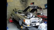 Blown Chevy In 1984 Mercedes 380sl R107