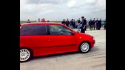 Honda Civic vs Fiat Punto turbo