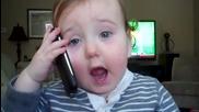 Малък сладък бебок говори по G S M