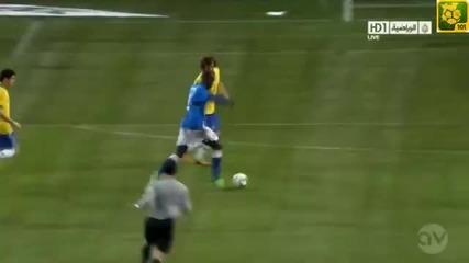 гол на Балотели! Бразилия 2:2 Италия /21.03.2013/