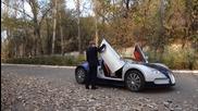 Казахстанско Bugatti за деца