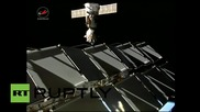ISS: Soyuz TMA-16M successfully relocates to make room for Soyuz TMA-18M