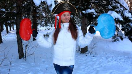 Пирати в снега!