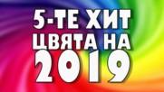 5-те хит цвята на 2019-а година