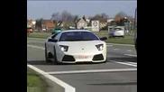 Lamborghini Murcielago Lp640 accelerating Awesome sound.avi
