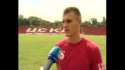 Божидар Чорбаджийски: От фъстък играя за ЦСКА