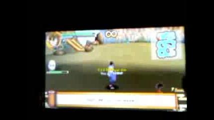 Naruto Shippuden Ultimate Ninja Impact-sasuke vs Killer bee-part 1