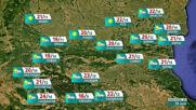 Прогноза за времето на NOVA NEWS (18.05.2021 - 10:00)