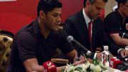China: Brazilian 'Hulk' speaks to press following Shanghai transfer