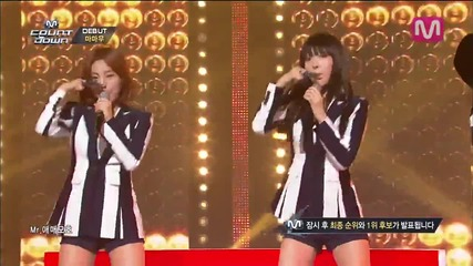 Mamamoo - Mr. Ambiguous @ M Countdown - 19. 06. 2014 Debut stage [ H D ]