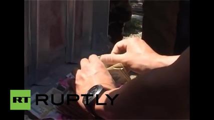 Полицаи в Непал намериха над 20 милиона непалски рупии сред отломките на банка