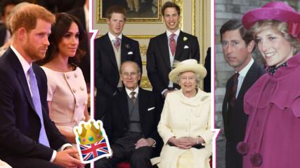 Най-големите секс скандали и лъжи в кралското семейство
