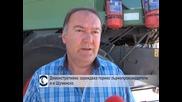 Демонстративно зареждаха гориво зърнопроизводители и в Шуменско