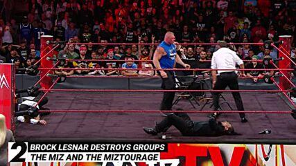 Brock Lesnar destroys groups of Superstars: WWE Top 10, Oct. 28, 2021