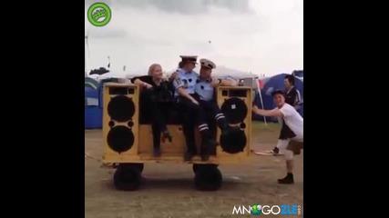Това се казват полицаи !