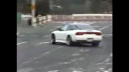 Illegal Street Drifting in Japan