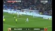 Реал Мадрид 6 - 0 Реал Сарагоса ( Всички голове )