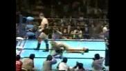 AJPW Stan Hansen & Rob Van Dam vs. Toshiaki Kawada & Kenta Kobashi
