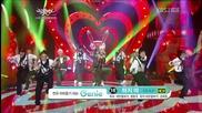 (hd) B.a.p - Stop It ~ Music Bank (02.11.2012)
