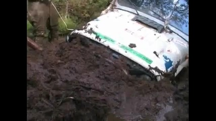 real russian OFF ROAD...