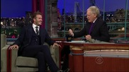 David Beckham Interview On David Letterman Part 2 of 2