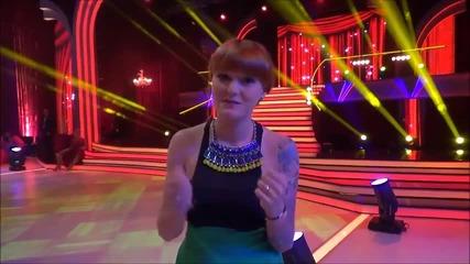 Dancing Stars - Рут Колева подкрепя Сани и Симеон (03.04.2014г.)