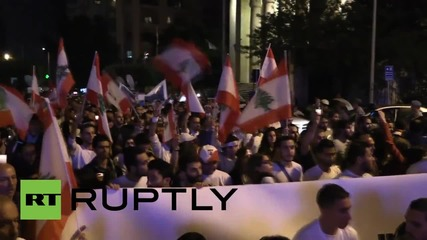 Lebanon: Thousands of #YouStink protesters flood Beirut