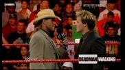 Крис Джерико говори за предстоящия си мач на Cyber Sunday [първична сила - 13. Ноември 2008г.]