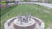 Drone Captures Iconic Monuments of the Battle of Stalingrad