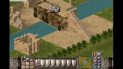 Stronghold Crusader - Make A Long Wall