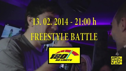 FREESTYLE BATTLE CLUB 180 WARM UP TO FBS 2 - 13.02.2014 - 21 00h 1 ver