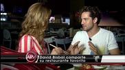 David Bisbal Entrevista en su restaurante favorito en Los Angeles Al Rojo Vivo 2014