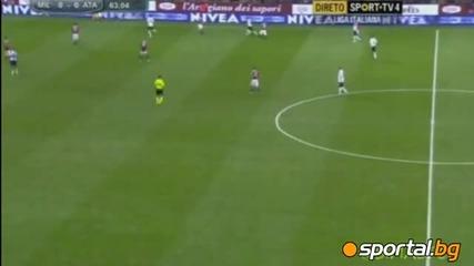 Милан 0:1 Аталанта