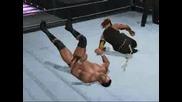 WWE SmackDown vs. RAW 08 - Jeff Hardy : Swanton Bomb (Играя на компа)