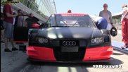 Audi A4 Dtm R13 на пистата