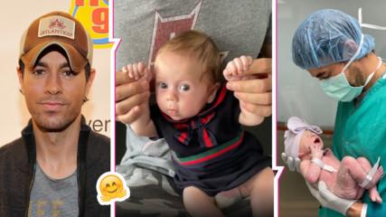 Енрике сподели трогателно видео с дъщеря си