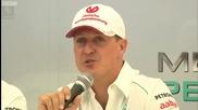 Официално - Шумахер се Отказва от Ф1 в Края на Сезона