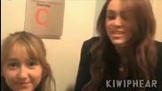 Сестричката на Майли се кефи, че е видяла Justin Bieber ;д