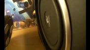 Logitech z523 speaker system 2.1 subwoofer sound test [hd]