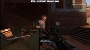 Team Fortress 2 - Късметлийски рефлект + headshot.