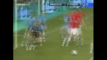 Man United Vs Zenit 2 - 1 Гола На Видич