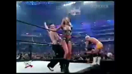Jeff Hardy slaps stacy and then kisses her